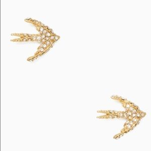 Kate Spade ♠️ NWT Gold Bird Stud Earrings